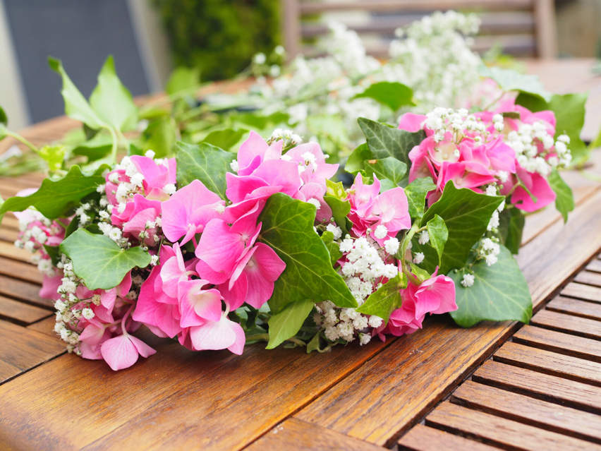 DIY : couronne de fleurs - POPPIE